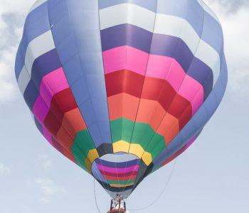 Ballongflygning i fantastisk miljö